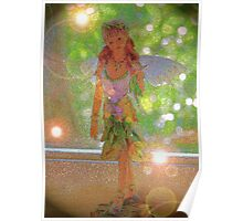 Fairy in the window Poster