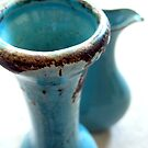 Blue Vases by Bree Ammerman