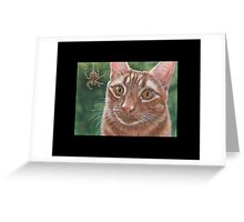 Spider (ACEO) Greeting Card