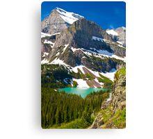 Glacier Backcountry Canvas Print
