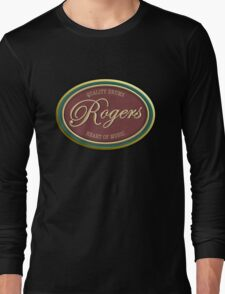 Quality Drums Rogers Vintage Long Sleeve T-Shirt