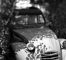 Broken 2CV by hazy