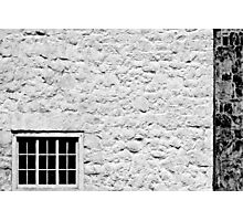 Window on White Wall Photographic Print