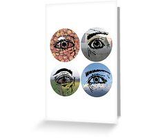 Nepal - Eyes Greeting Card