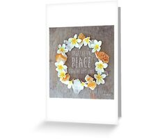 Breathe in Peace Greeting Card
