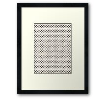 Spotty - Craft Design Framed Print