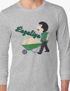 Legalize Marijuana, Randy Marsh South Park style Long Sleeve T-Shirt