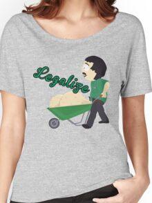Legalize Marijuana, Randy Marsh South Park style Women's Relaxed Fit T-Shirt