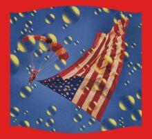 America Bubbles High by Sandy Woolard