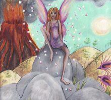volcano fairy by blueattic