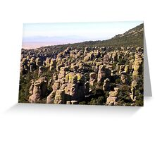 Cochise Stronghold, Arizona Greeting Card