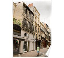 Street of Bordeaux Poster