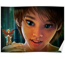 Peter and Tinker Bell Poster