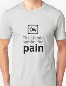 Atomic Symbol for Pain T-Shirt