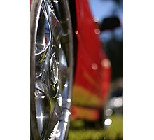SHINEY RIM OBSESSION Photographic Print