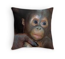 In Her Hand Throw Pillow
