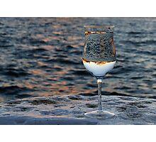 Glass V Photographic Print