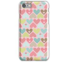 Hearts - Craft Design  iPhone Case/Skin