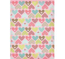 Hearts - Craft Design  Photographic Print