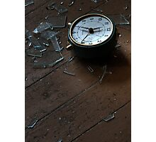'No more time' Photographic Print