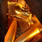 Reclining Buddha by Scott Harding