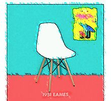Eames Chair Photographic Print