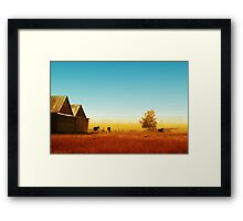 Rawdon everyday life 02 Framed Print