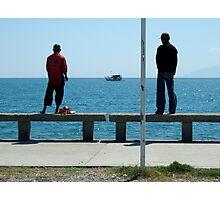 Dock of the Bay by Richard Jones Photographic Print