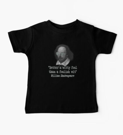 the Witty Fool Baby Tee