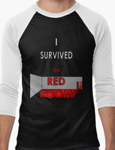 I Survived the Red Room (Graphic Version) Men's Baseball ¾ T-Shirt