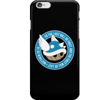 Blue Turtle Shell iPhone Case/Skin