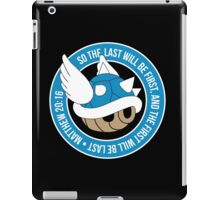 Blue Turtle Shell iPad Case/Skin