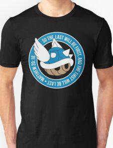 Blue Turtle Shell Unisex T-Shirt