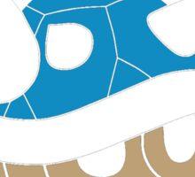 Blue Turtle Shell Sticker