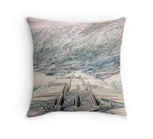 Warship series#1 Throw Pillow