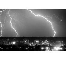 Spokane Electric Skies Photographic Print