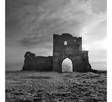 Rests of an old fortress Kremenets Photographic Print