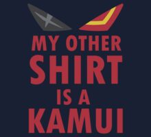 My Other Shirt is a Kamui - Kill la Kill by indydegrees1