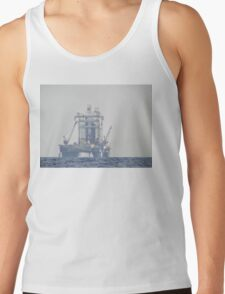 Oil Rig At Sea Tank Top