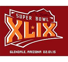 Super Bowl XLIX - 2015 - New England & Seattle Photographic Print