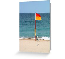 Bondi rescue Greeting Card