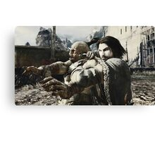 Middle Earth Shadow of Mordor Print Canvas Print