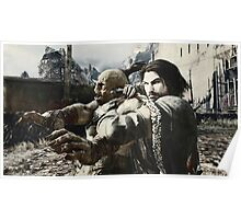 Middle Earth Shadow of Mordor Print Poster