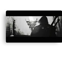Middle Earth Shadow of Mordor Talion Print Canvas Print