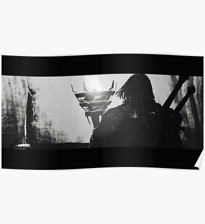 Middle Earth Shadow of Mordor Talion Print Poster