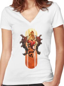 The Condition of My Heart Women's Fitted V-Neck T-Shirt