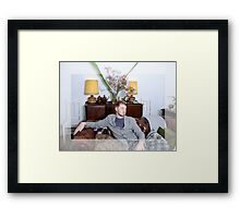 Man of the Manor Framed Print