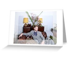 Man of the Manor Greeting Card