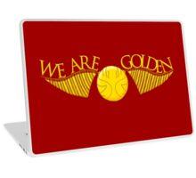 We Are Golden Laptop Skin