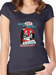 NIHILISM Women's Fitted Scoop T-Shirt